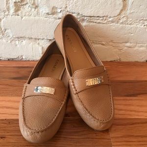 Coach Fredrica Leather Loafers